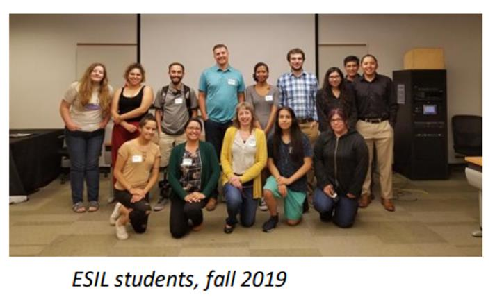ESIL students, fall 2019