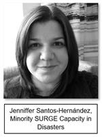 Jenniffer Santos-Hernández, Minority SURGE Capacity in Disasters