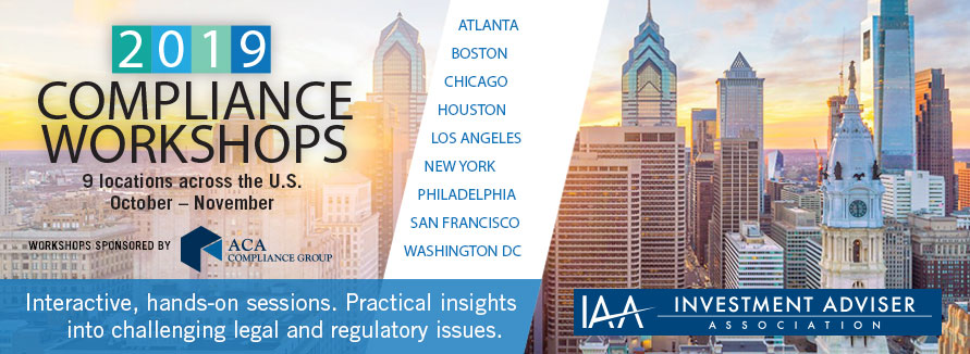 IAA Compliance Workshops