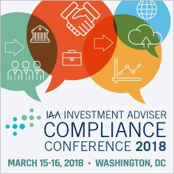 investment adviser compliance 2018 IAA Compliance Conference - Investment Adviser Association