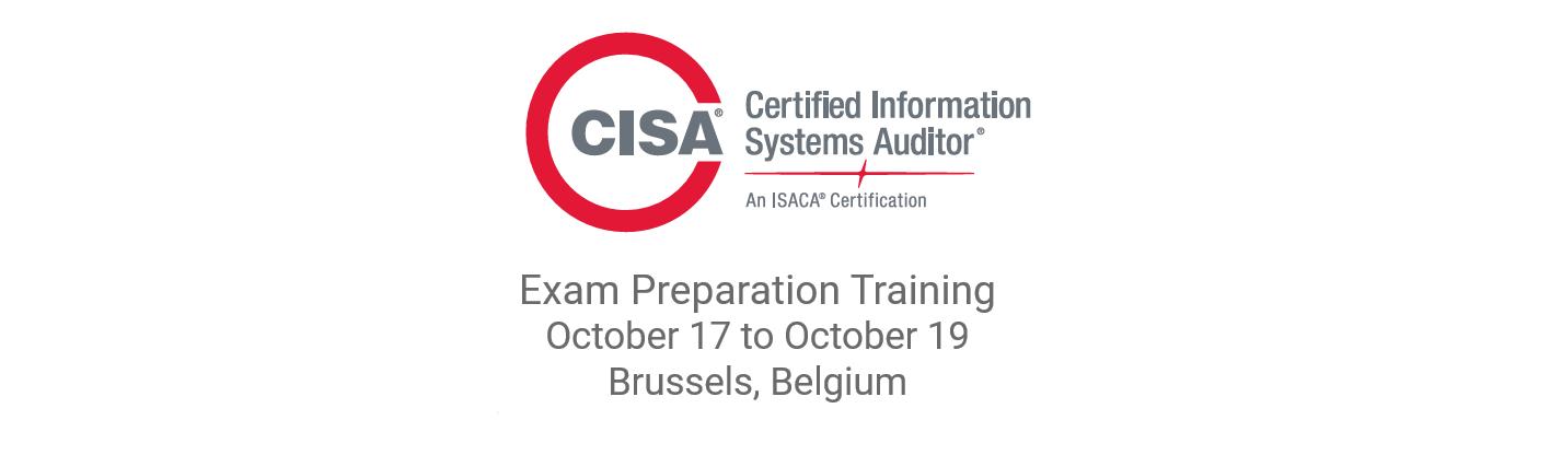 Isaca Cisa Exam Preparation Training Brussels In English