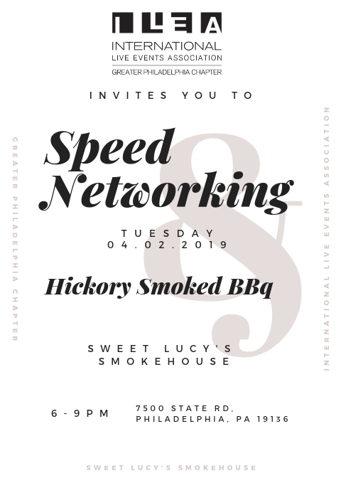 Networking event invitation speed 16 Event