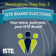 2019 ISTE Board Nominations - Open until September 2