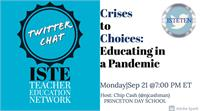 Twitter chat with ISTE Teacher Education Network and Title