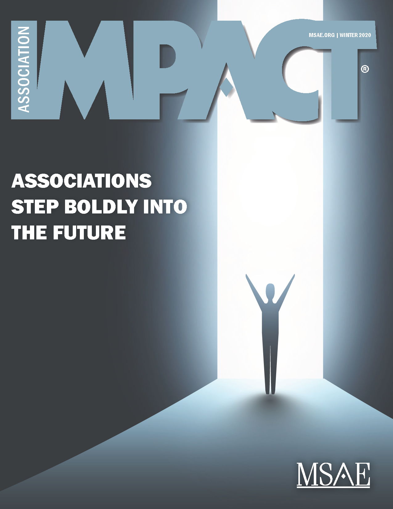 cover image of w20 edition of Impact magazine