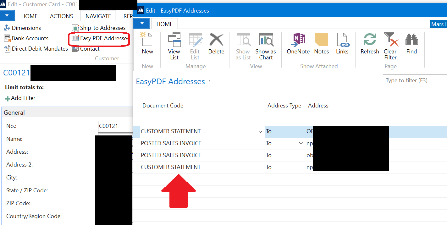EasyPDF Addresses