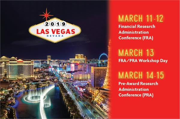 2019 FRA/PRA Welcome Call to First Time Conference Attendees