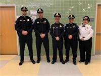 Sgt. Judy Racow, second from the right.