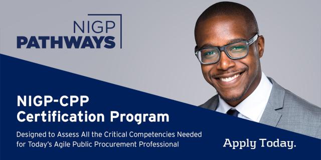 NIGP-CPP - Get Certified Today