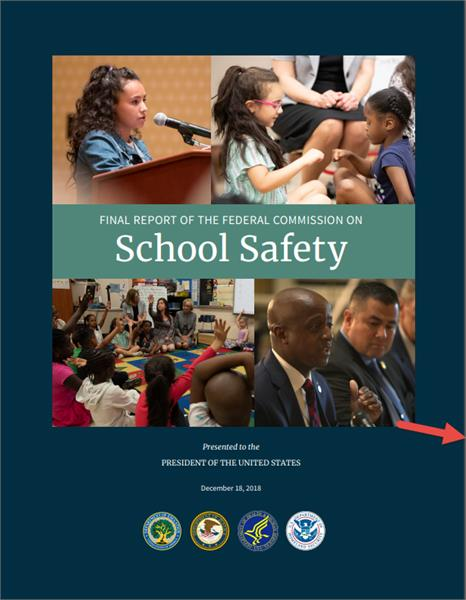 Final Report of the Federal Commission on School Safety Cover Page