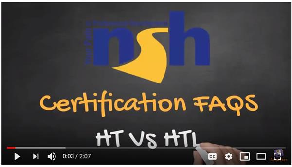 HT Vs HTL: Which Certification to Earn?