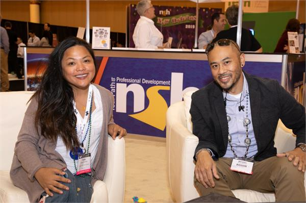 NSH Members at the NSH Membership Booth at the Convention
