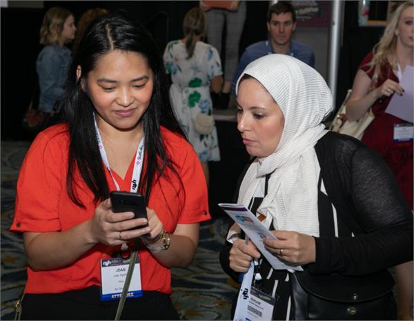 NSH Members Exchanging Information