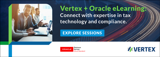 Vertex + Oracle eLearning: Explore our sessions.