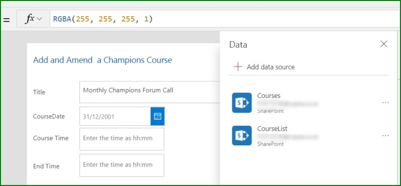 Sharepoint Customised Form Additional Data Source