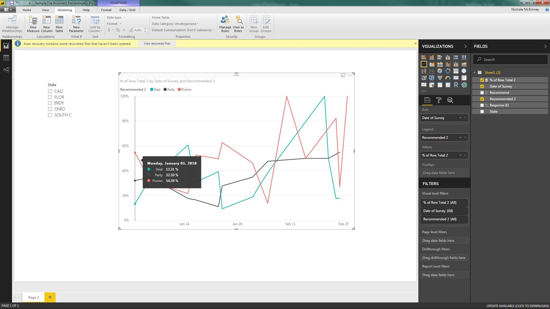 Calculation Issue   Norway Power BI & PowerApps User Group