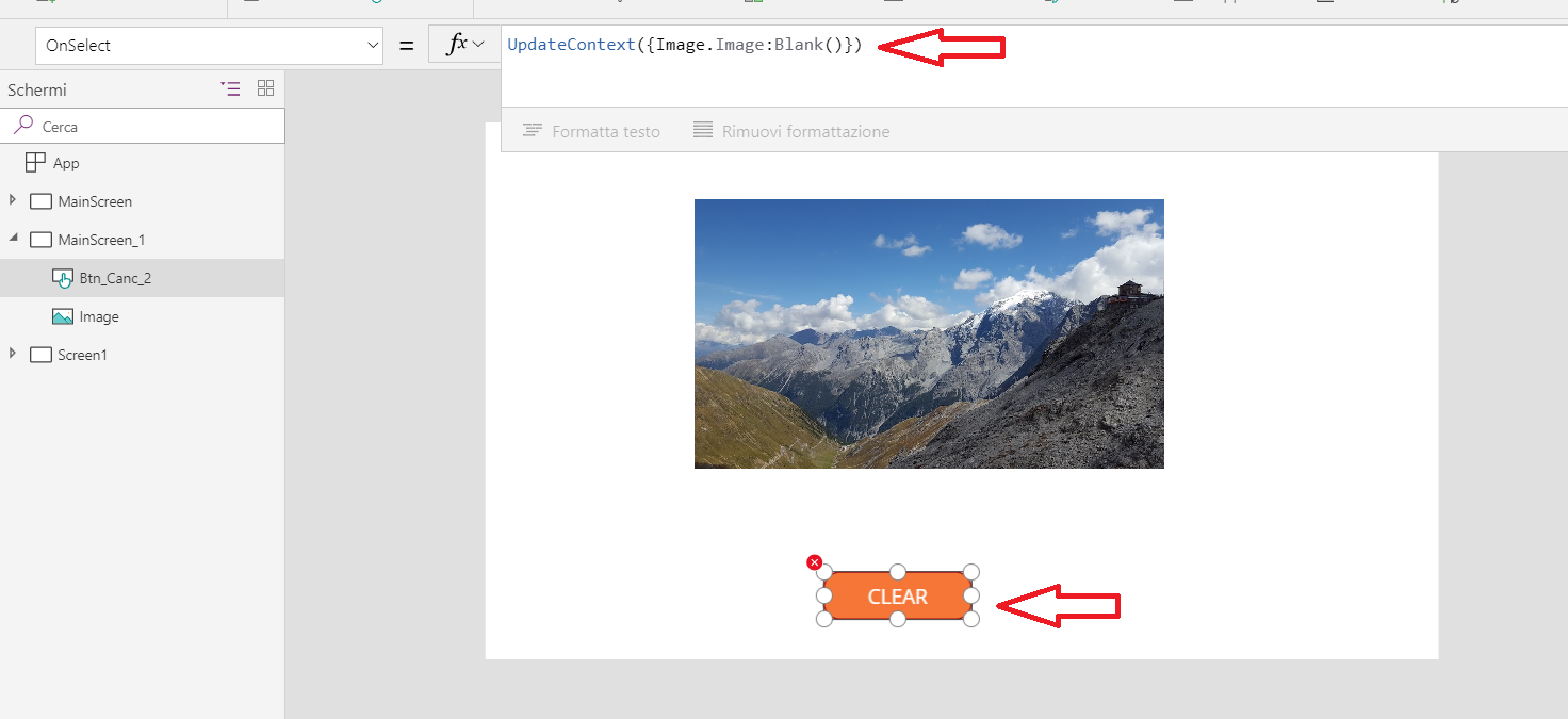 Clear Image | PowerApps Exchange