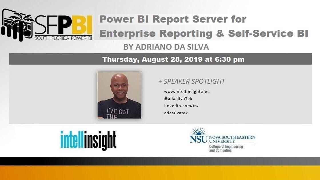 Power BI Report Server for Enterprise Reporting & Self Service BI by Adriano da Silva