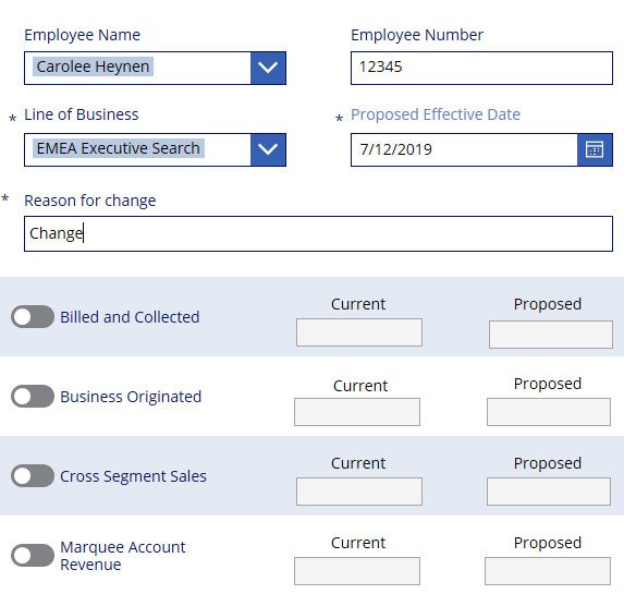 Changes are not saved | PowerApps Exchange