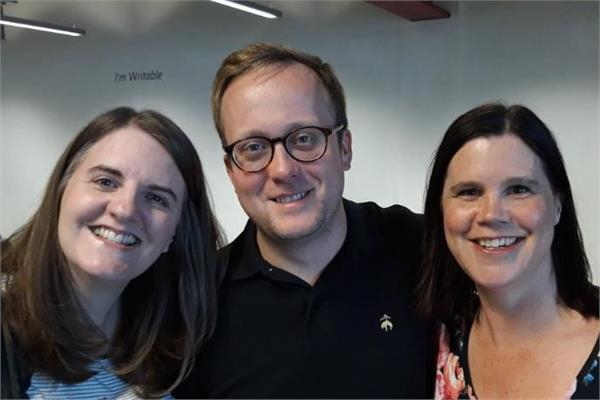 Speakers at London PowerApps & Flow user group 2019 09 19
