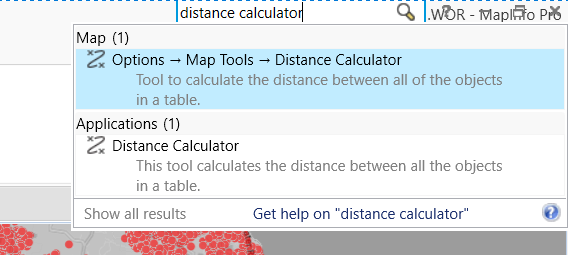 Distance Calculator 2