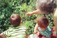 Grandparent with children