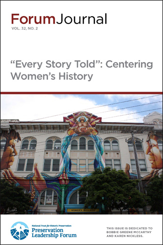 Forum Journal on Women's History Cover