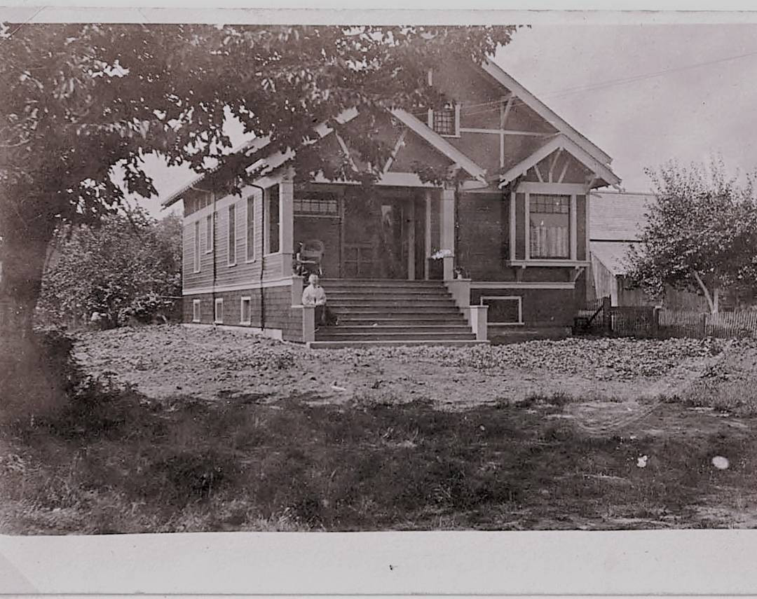 date taken: unknown.  House was built in 1910.