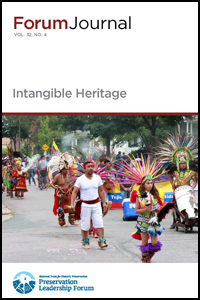 Cover of Intangible Heritage Journal