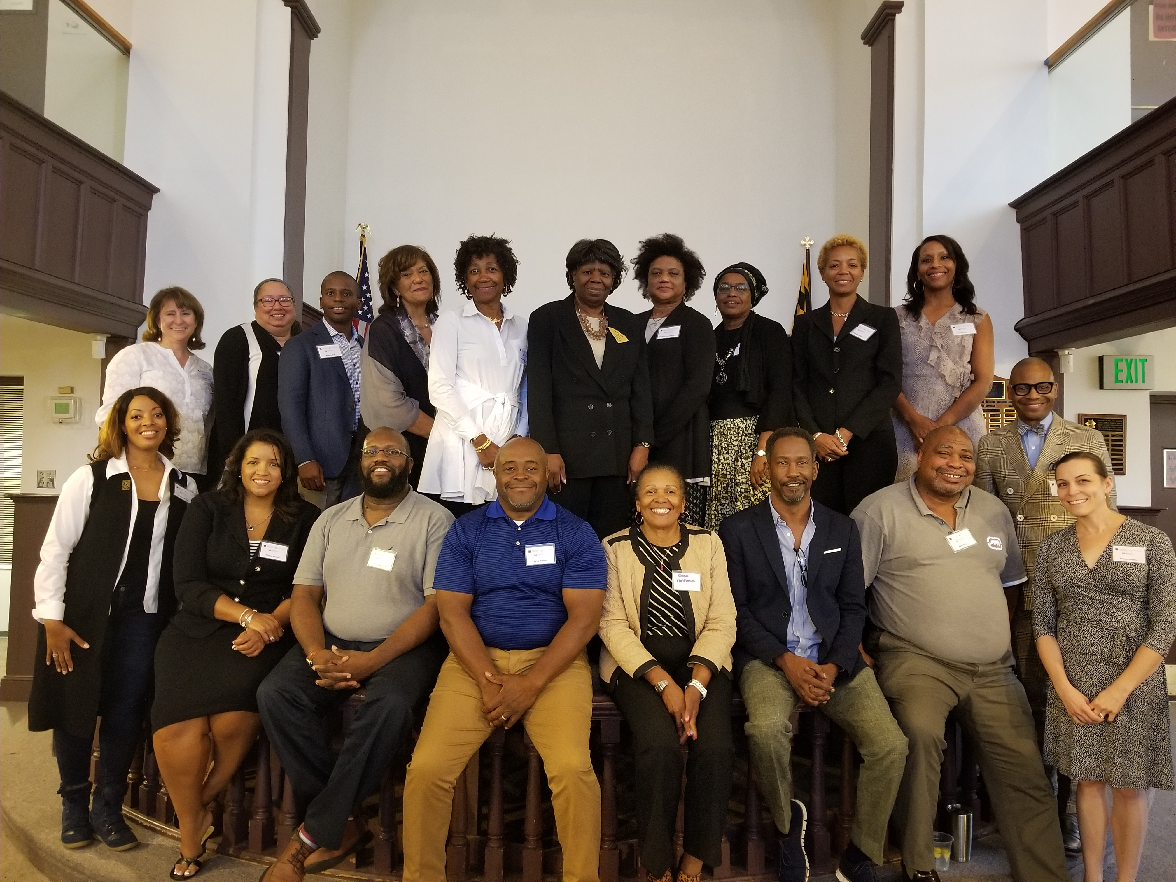 Attendees of the 2018 Annapolis Board Building Training.