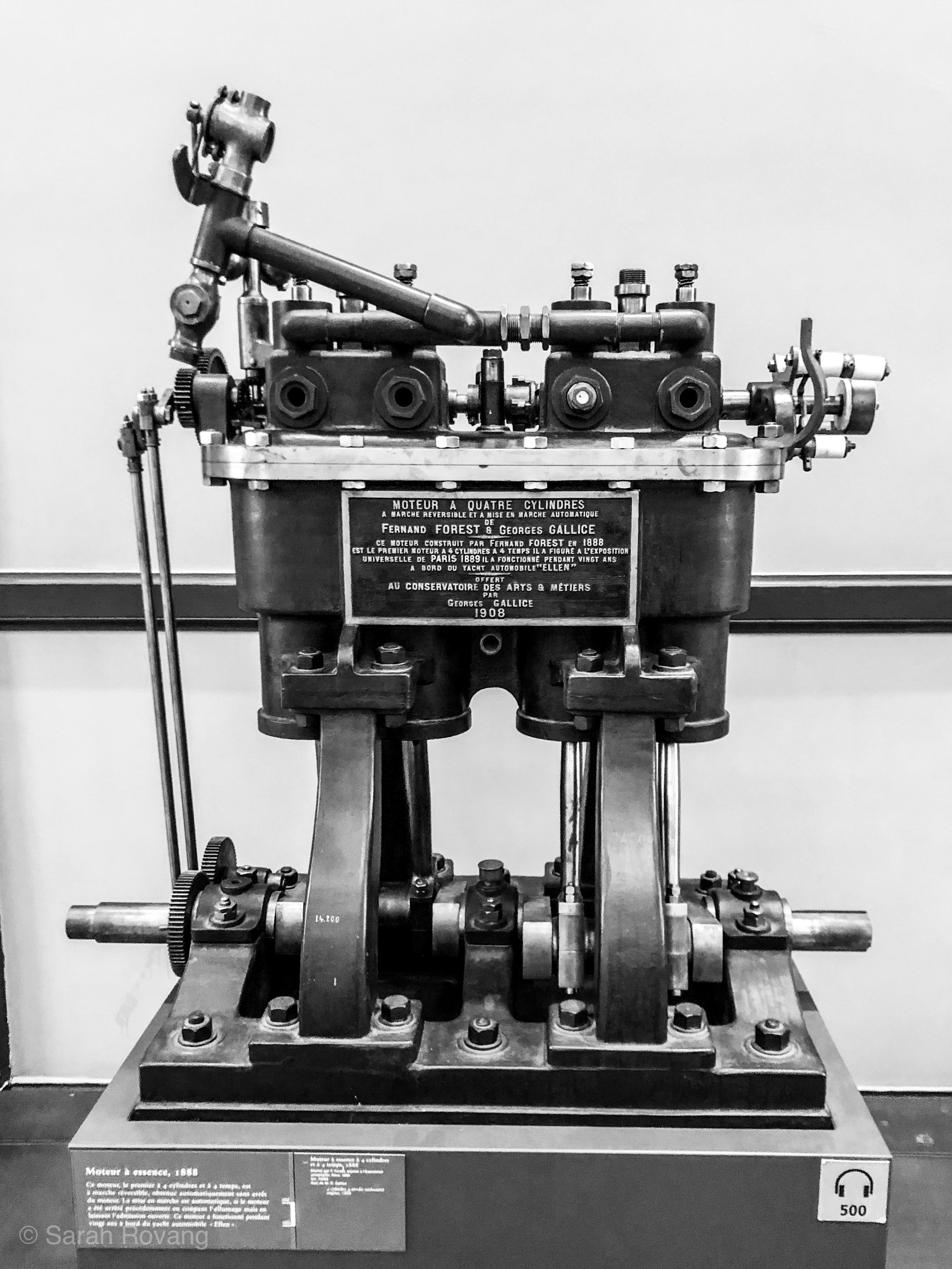 1888 four-cylinder motor
