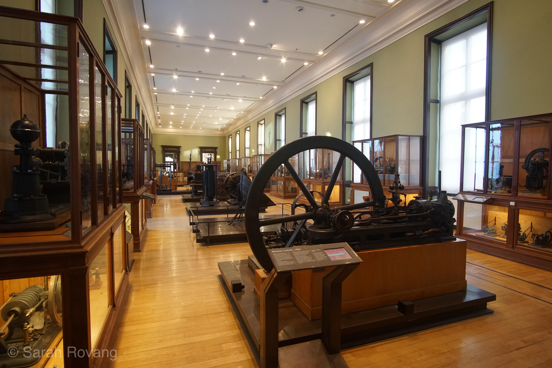 Engine Hall at Musée des Arts et Métiers,