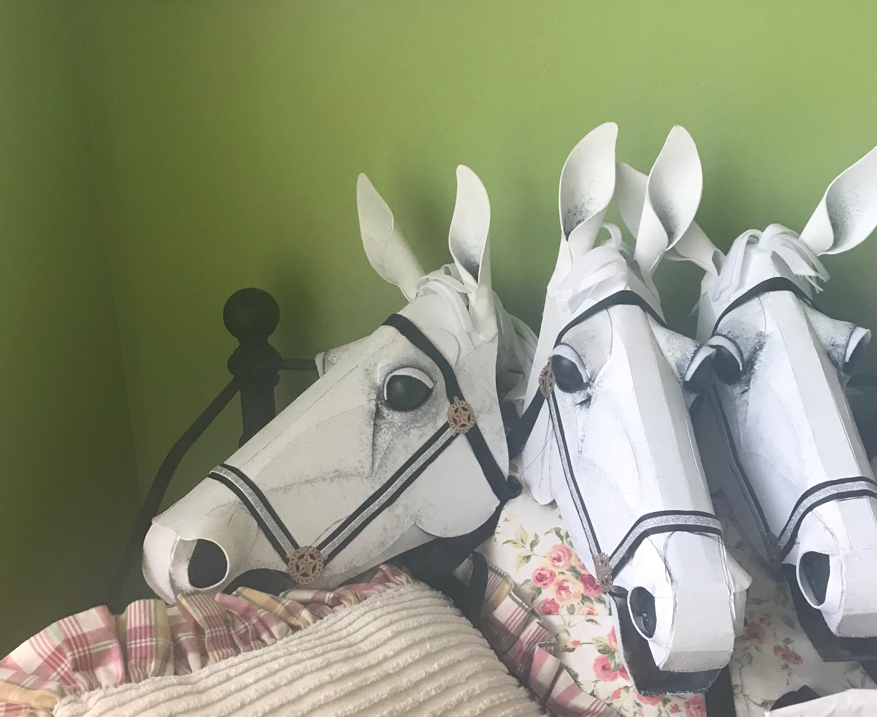 Ah-Mazing Horse heads and tales for Cinderella for sale