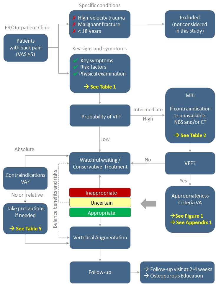 VCF Clinical Care pathway