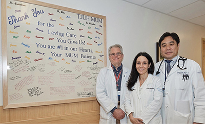 Drs. Eschelman, Gonsalves, and Sato
