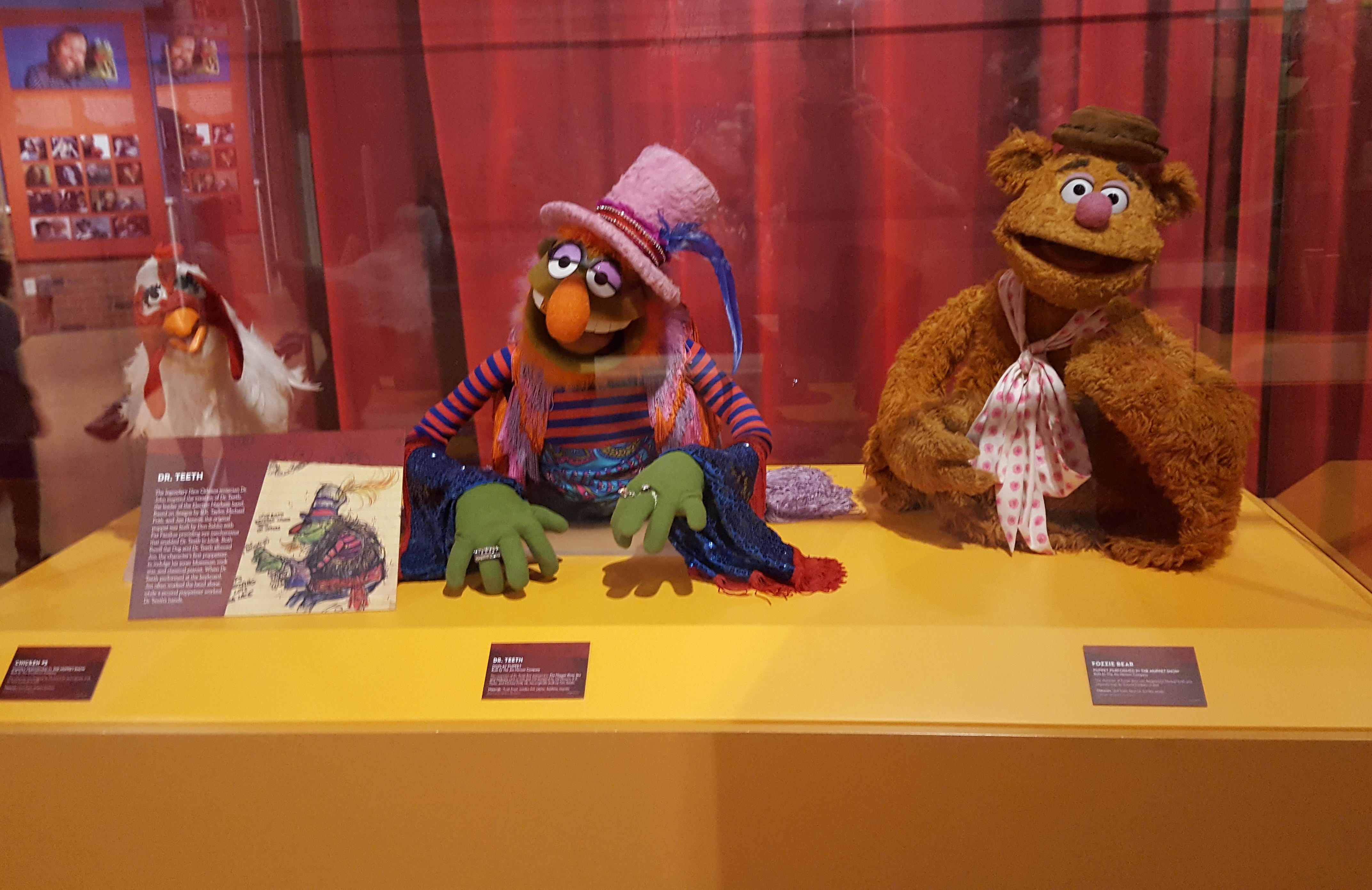 Selection of Muppets from the Jim Henson Collection at the Center for Puppetry Arts