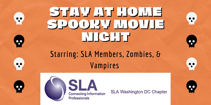 DCSLA Stay at Home Movie Night: Halloween edition