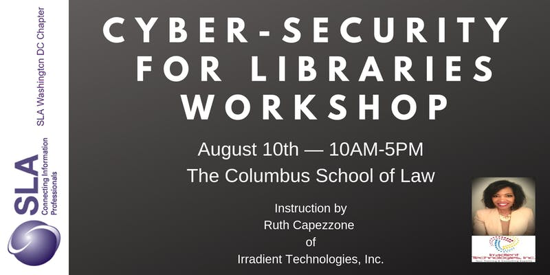 Cybersecurity for Libraries Workshop