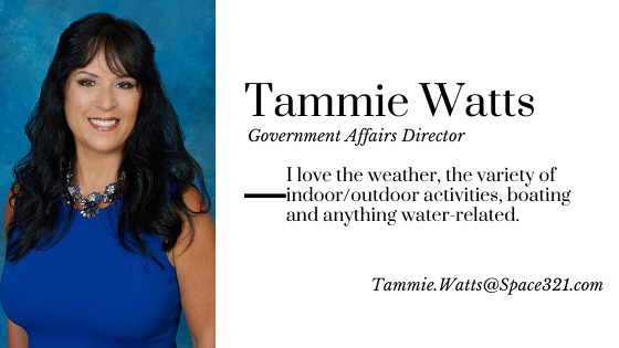 Tammie Watts, Government Affairs Director