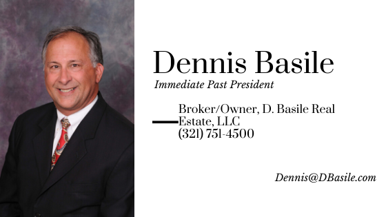 Dennis Basile, Immediate Past President