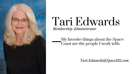 Tari Edwards, Membership Administrator