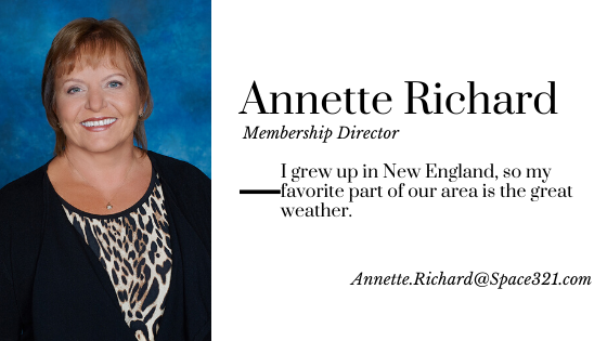 Annette Richard, Membership Director