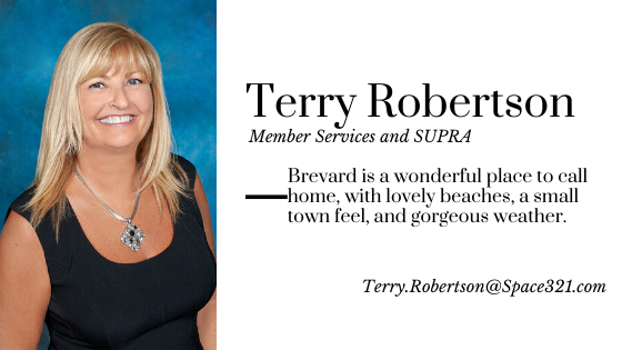 Terry Robertson, Member Services & Supra