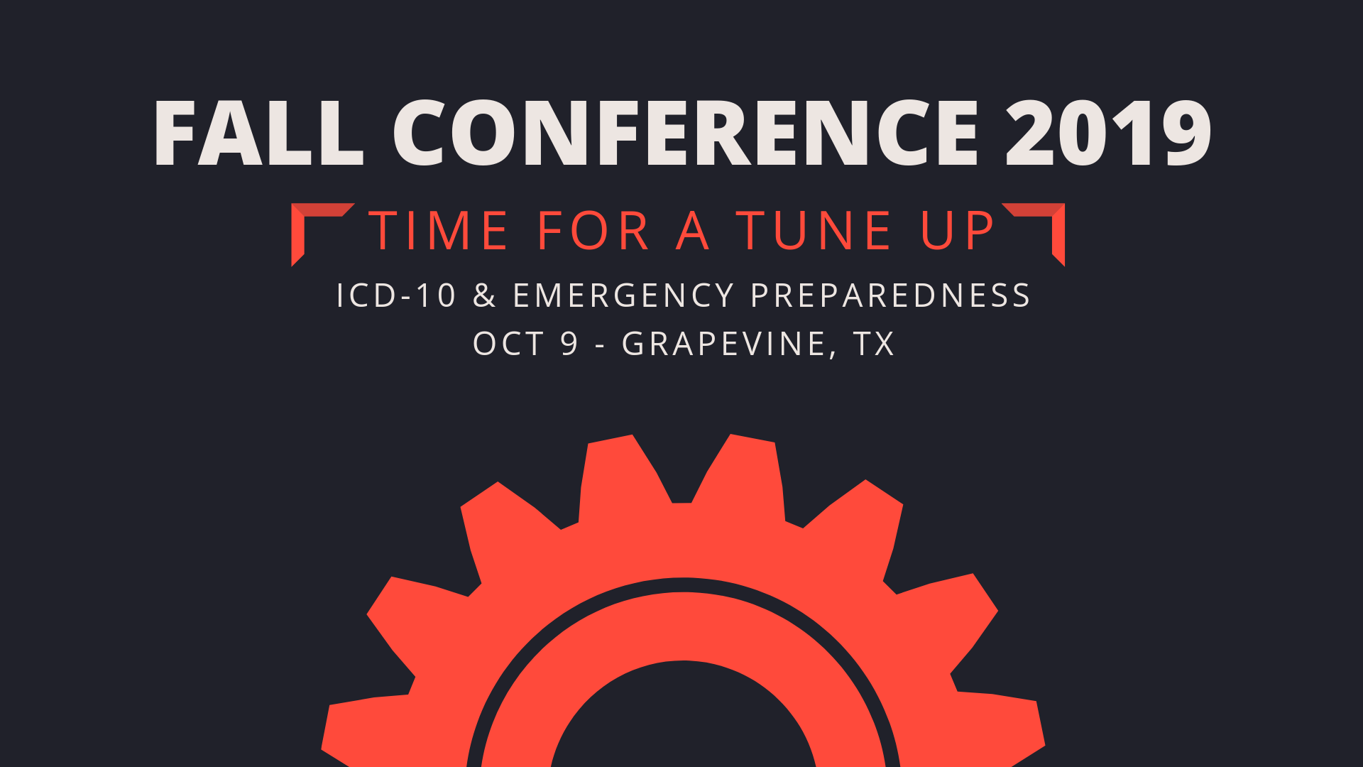 Fall Conference - TAHCH org