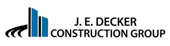 J. E. Decker Construction Group Logo