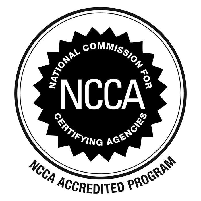 NCCA Accreditation Logo