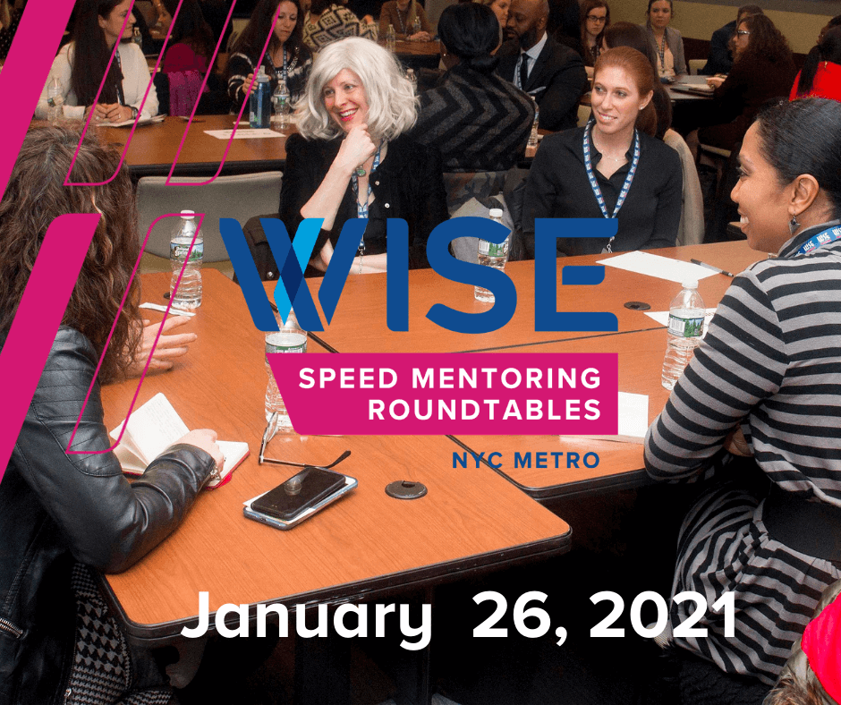 Image of 2021 WISE NYC Metro: Speed Mentoring Roundtables