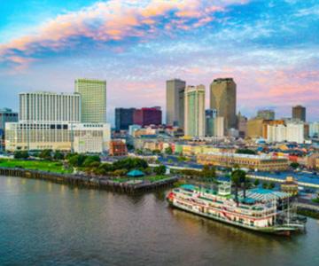 New Orleans city skyline