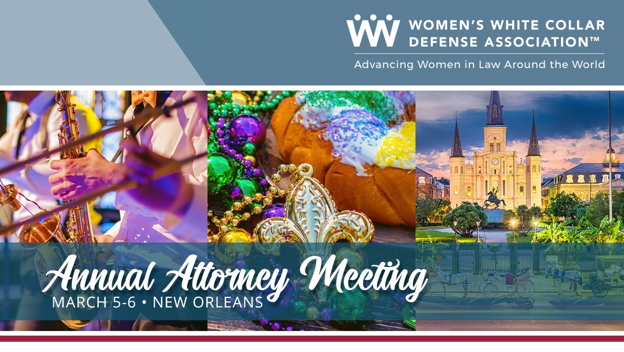 2019 Annual Attorney Meeting in New Orleans banner