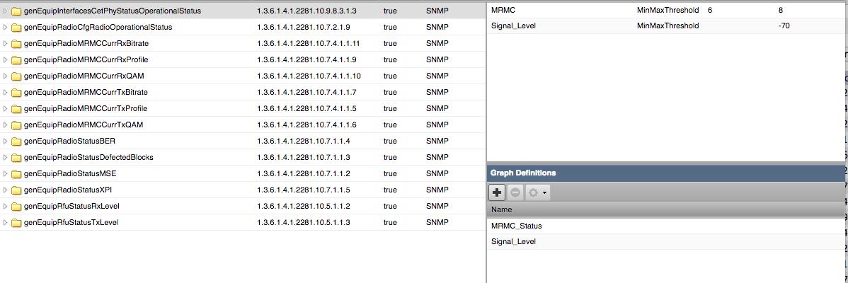 Cambium 820 Custom Graphs   Configuration & Administration